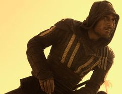 "Michael Fassbender stars in ""Assassin's Creed."""