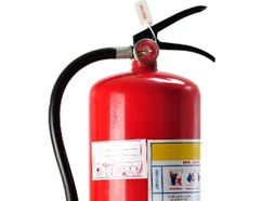 Safety tip: Buy a fire extinguisher – the higher the number rating on the extinguisher, the more fire it puts out.