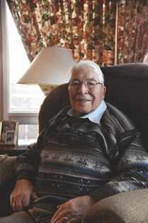 Herb Belcourt, 85, is the first Métis individual to win the Aboriginal Lifetime Achievment Award, presented by the Aboriginal Business Hall of Fame. Belcourt was announced as the recipient of the award on Dec. 6 and the ceremony will take place on Jan. 31. Sarah Comber/Sherwood Park News/Postmedia Network