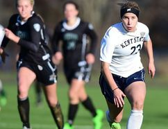 Sudbury's Jenna Hellstrom wrapped up her soccer career at Kent State as the most decorated athlete in the soccer team's history. Supplied photo