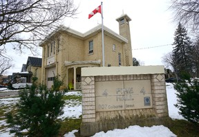 A city hall report recommends designating Fire Hall No. 4 on Colborne Street as a heritage property. Morris Lamont/The London Free Press/Postmedia Network