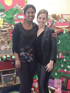 Photo supplied Marie Ntaganda and Sylvie Martel are heading to Rwanda to help open a school there paid for by donations from Sudburians.