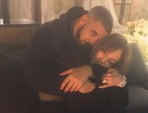 Drake posted this photo of himself and Jennifer Lopez to Instagram Dec. 28, 2016. JLo posted the same photo. Neither included a caption.