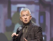 Supplied photo Comedian Ron James performs at the Grand Theatre in November during the taping of his holiday standup special, True North, which airs Dec. 30 at 9 p.m. on CBC.