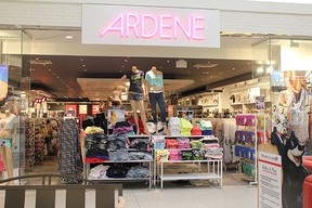 Officials at the unspecified Ardene store apologized to the girl for wrongfully accusing her. This is a photo of Ardene's store at Kildonan Place. (KILDONANPLACE.COM PHOTO)