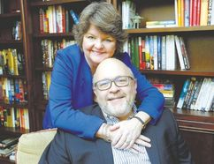 Doug Ferguson of London with his wife Laurie Lashbrook have overcome a health scare that ended with Ferguson's liver transplant. (MORRIS LAMONT, London Free Press)