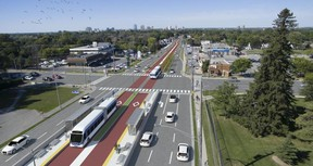 $500-million bus rapid transit system. (Submitted)