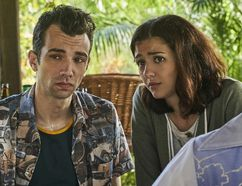 Jay Baruchel and Katie Findlay in Man Seeking Woman. Baruchel gives 24 Hours readers a sneak peak at season 3.