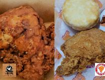 A tale of two fried chicken joints