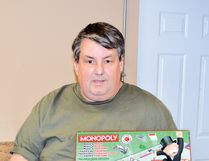 File photo Luc Morrissette, owner of Alpine Flowers and Gifts, is holding his second children's Monopoly tournament at the Renaissance Seniors' Centre on Saturday, Jan. 14.