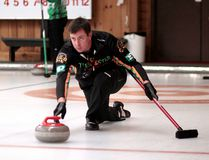 Andrew Hackner and the Geraldton-based rink skipped by Mike Assad are among the eight teams competing at the 2017 Travelers NOCA Men's East Qualifier at the McIntyre Curling Club this weekend. BENJAMIN AUBÉ/THE DAILY PRESS