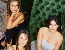 """Charmed"" stars, pictured from left to right: Alyssa Milano, Holly Marie Combs and Shannen Doherty."