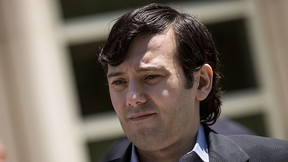 Ex-pharmaceutical executive Martin Shkreli exits the U.S. District Court for the Eastern District of New York, June 6, 2016, in the Brooklyn borough of New York City. (Drew Angerer/Getty Images)