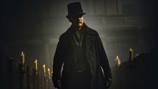 Tom Hardy in Taboo. (Handout)