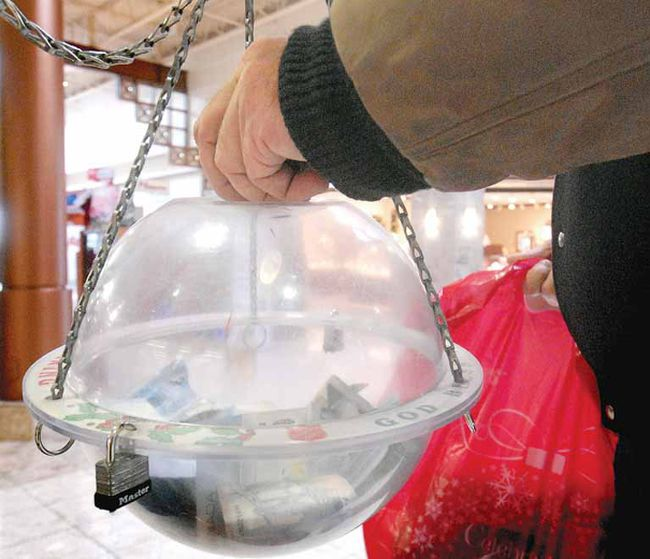 The Salvation Army kettle campaign in Quinte West surpassed its goal.