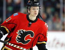 Former Stony Plain Predator Brett Kulak is back with the Calgary Flames this week after a month of seasoning in the American Hockey League. - Postmedia Network