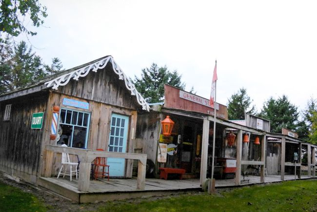 Frank Vercouteren's heritage village is shown on his Blenheim property. (Contributed Photo)
