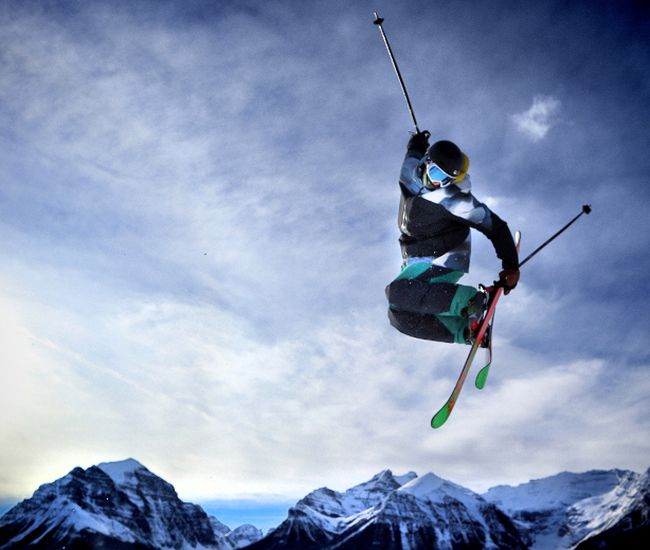 Skiers and Boarders were rejoicing the opening of the Showtime Terrain Park last weekend at Lake Louise.