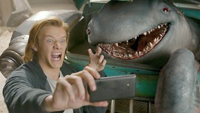 """Lucas Till plays Tripp in """"Monster Trucks.""""  (Paramount Pictures)"""