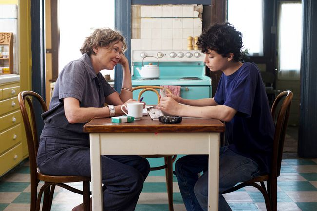 Annette Bening and Lucas Jade Zumann in '20th Century Women.' MUST CREDIT: Merrick Morton, A24