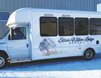Submitted photo The Silver Willow Lodge's new bus.