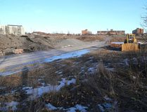A view of the north end Kingston quarry site on Jan. 13, where the retail giant store Walmart was supposed to build its second Kingston store. (Ian MacAlpine/The Whig-Standard)