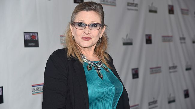 Carrie Fisher.  (Alberto E. Rodriguez/Getty Images for US-IRELAND ALLIANCE)