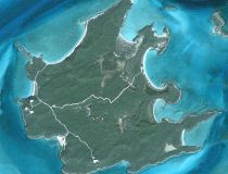 Bell Island is seen in this satellite image