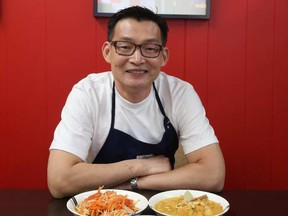 Sam Souryavong, owner and chef of Sam's Cafe.