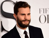 Jamie Dornan attends the UK Premiere of 'Fifty Shades Of Grey' at Odeon Leicester Square on February 12, 2015 in London, England. (Photo by Ian Gavan/Getty Images)