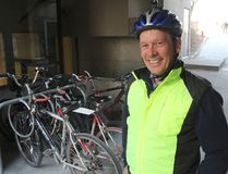 Neal Scott is the current president of Cycle Kingston, which is marking its 10th anniversary this year as a charitable organization. The group promotes safe cycling through education and public outreach. (Michael Lea/The Whig-Standard)