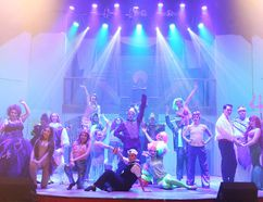 The cast of Theatre Cambrian's The Little Mermaid pose for a photo on opening night in Sudbury, Ont. on Wednesday November 23, 2016. Gino Donato/Sudbury Star/Postmedia Network Gino Donato