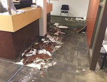 A flood drowned the Sherwood Park Primary Care Network to round out 2016, resulting in more than $250,000 in damages. Photo Supplied