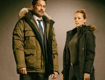Billy Campbell and Karine Vanasse in Cardinal