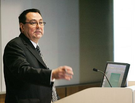 Justice Gethin Edward is the speaker for the third in a series of lectures about First Nations residential schools and the results of the Truth and Reconciliation Commission. (Christopher Smith/Expositor file photo)