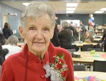 Ruth Nagle, pictured, turned 100 last week. The long-time Merlin and Chatham resident advocates selfless giving, and says she wants to keep living life as much as possible.