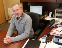 LUKE HENDRY/The Intelligencer Jim Pine, Hastings County's chief administrative officer.
