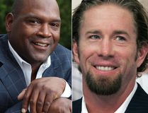Tim Raines, Jeff Bagwell, and Ivan Rodriguez. (AP Photos)