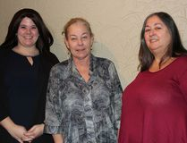 The driving force behind the Breakfast Connections on Wednesday January 18, 2017 in Cornwall, Ont. Lesley Lang, Lezlie Strasser and Candy Pollard. Wednesday marked the start of the networking breakfasts for 2107. Lois Ann Baker/Cornwall Standard-Freeholder/Postmedia Network