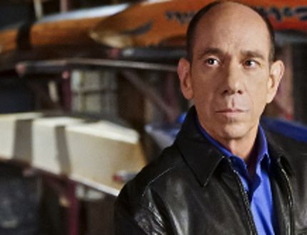 "This image released by CBS shows Miguel Ferrer in character as NCIS Assistant Director Owen Granger in ""NCIS: Los Angeles."" Ferrer, who brought stern authority to his featured role on CBS' hit drama ""NCIS: Los Angeles"" and, before that, to ""Crossing Jordan,"" died Thursday, Jan. 19, 2017, of cancer at his Los Angeles home. He was 61. (Sonja Flemming/CBS via AP)"