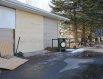 More than $5,000 worth of stolen goods were stolen Monday evening from the Nanton Golf Club. The door of the pro shop was shattered to gain access. Steve Sucha Nanton News