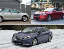 A tough choice between these three affordable family cars