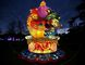 A light sculpture depicting a King Rooster, in honour of chinese year of the Rooster 2017, is seen during a photocall to promote the Magical Lantern Festival at Chiswick House Gardens in west London on January 18, 2017. The Silk Road was chosen as the festival theme for 2017 due to its historical significance. A very current topic of huge cultural importance as it spread trade and culture between East and West dating back to the Western Han Dynasty of China in 206 BC. / AFP / DANIEL LEAL-OLIVAS (Photo credit should read DANIEL LEAL-OLIVAS/AFP/Getty Images)
