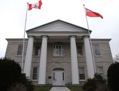 Emily Mountney/The Intelligencer The Superior Court of Justice Building in Picton.