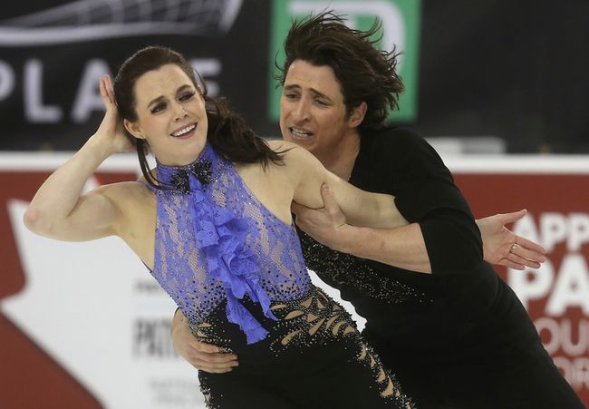 Scott Moir and Tessa Virtue. (Tony Caldwell, Ottawa Sun)