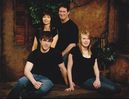 Three years after the tragedy, the family of Norm Bisaillon — spouse Romeena Kozoriz, son Justin and daughter Larissa — and fear they will never get justice for their loved one's workplace death. Supplied photo