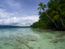 Salt water lagoon at Uepi in the Solomon Islands is pictured in this file photo. (ikaelEriksson/Getty Images)