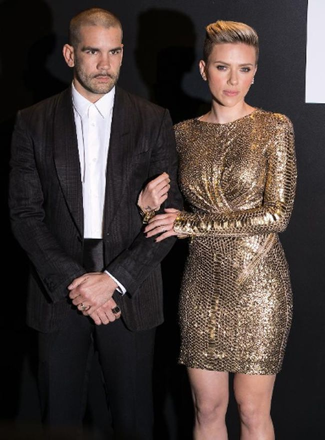 Scarlett Johansson and her husband Romain Dauriac have reportedly separated after two years of marriage. (Brian To/WENN.com)