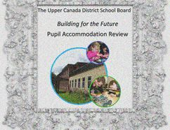 The cover of the Upper Canada District School Board's Building for the Future report. Illustration by Hugo Rodrigues/Cornwall Standard-Freeholder/Postmedia Network