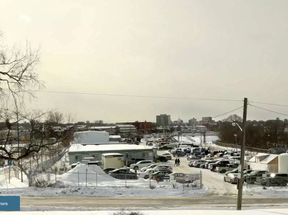 The preferred location for a joint main municipal library and Library and Archives Canada facility is at 557 Wellington St., at the eastern edge of LeBreton Flats. JULIE OLIVER / POSTMEDIA